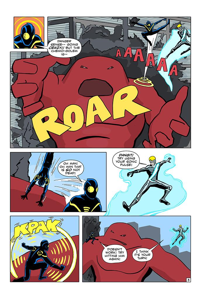 Tsk tsk Echo! Nothing stays dead in comic books!